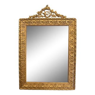 Antique Ormolu Picture Frame For Sale