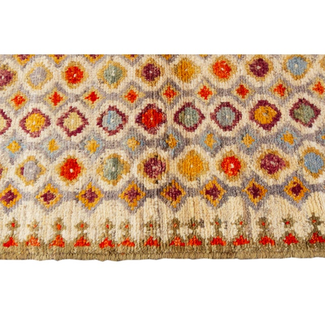 "Textile 21st Century Modern Gabbeh Rug, 2'8"" X 6'8"" For Sale - Image 7 of 10"