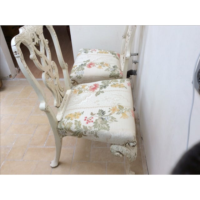 English Country House Chairs - A Pair For Sale - Image 9 of 11