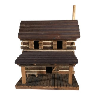 Handcrafted Log Bird House