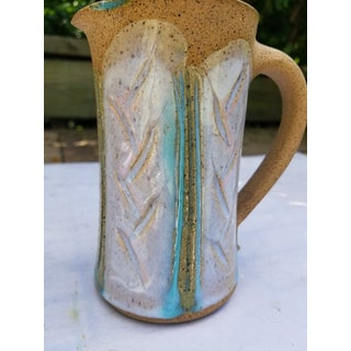 Hand Thrown Glazed Stoneware Jug Circa 1975 Preview