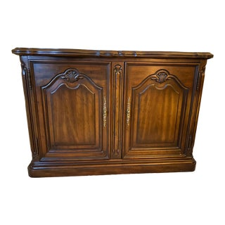 1970's Drexel French Provincial Serving Cabinet For Sale