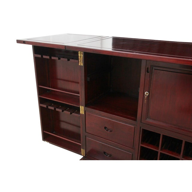 Rosewood Bar and Cabinet - Image 4 of 6