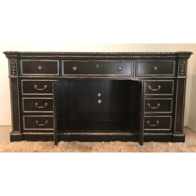 Late 20th Century 20th Century Louis XIV Philippe Langdon Versailles Door Dresser For Sale - Image 5 of 12