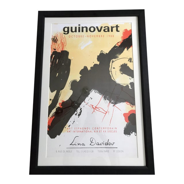1988 Guinovart at Lina Davidou Gallery Poster - Image 1 of 5