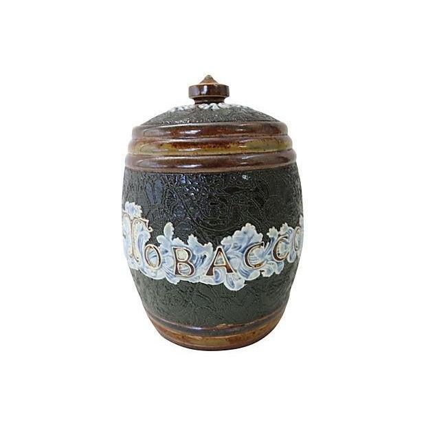 Antique Doulton Lambeth Tobacco Jar - Image 1 of 4