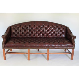 Tufted Leather Sofa Preview