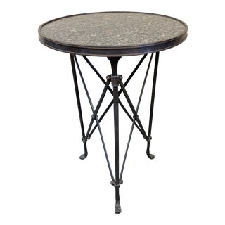 Global Views Directoire Side Table For Sale
