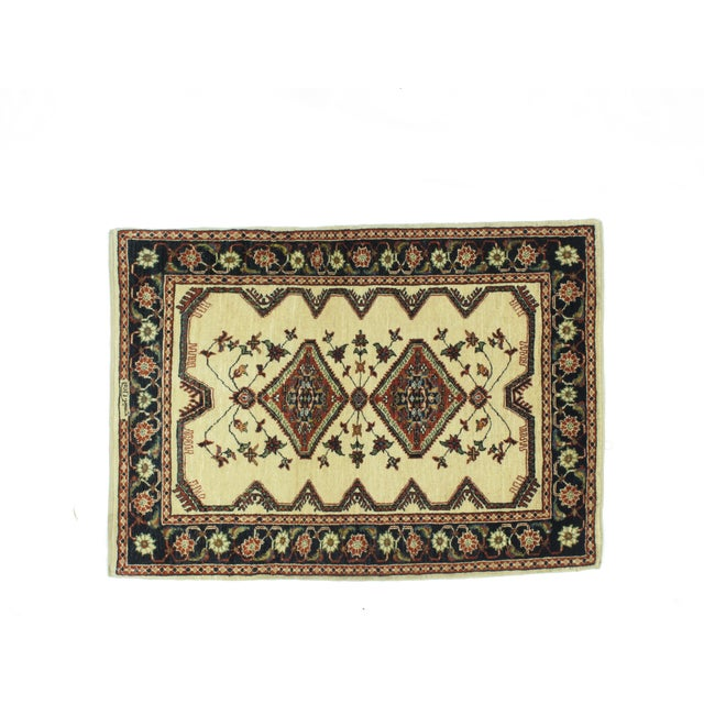 "Islamic Leon Banilivi Kashkuli Rug - 2'10"" X 3'10"" For Sale - Image 3 of 6"