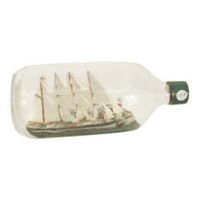 Late 19th Century American/English sailing ship For Sale