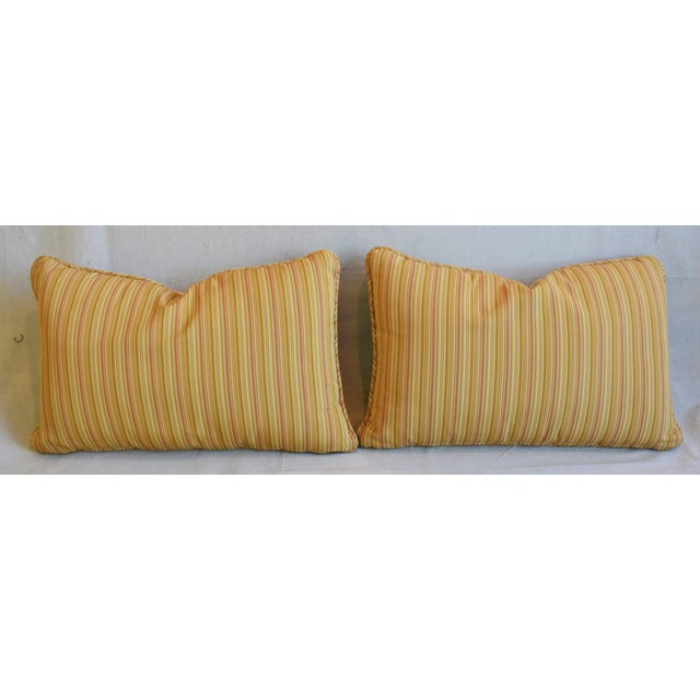 "P. Kaufmann Bazaar Paradise Animal Feather/Down Pillows 26"" X 17"" - Pair For Sale - Image 10 of 13"