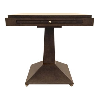 Modern Caracole Back to Square One End Table For Sale