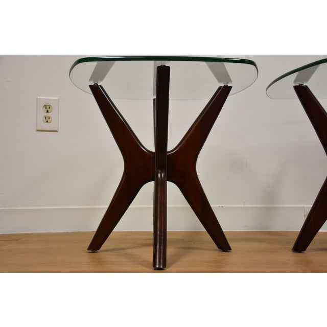 Adrian Pearsall Jacks End Tables - A Pair - Image 7 of 9