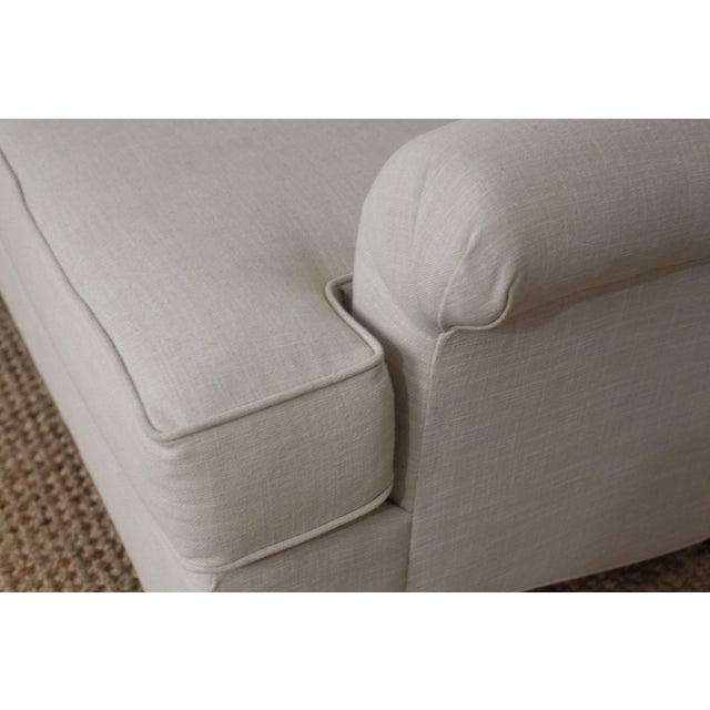 Highland House Linen Tufted Sofa - Image 7 of 8
