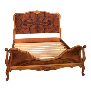 Antique Honduran Mahogany Full Bed