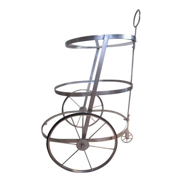 Industrial Tea Cart - Image 1 of 7