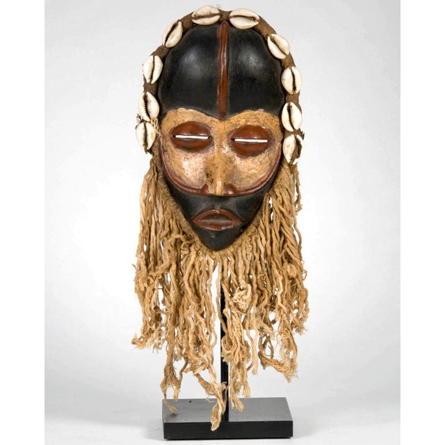African Dan People of Liberia Gold and Black Mask For Sale - Image 3 of 7