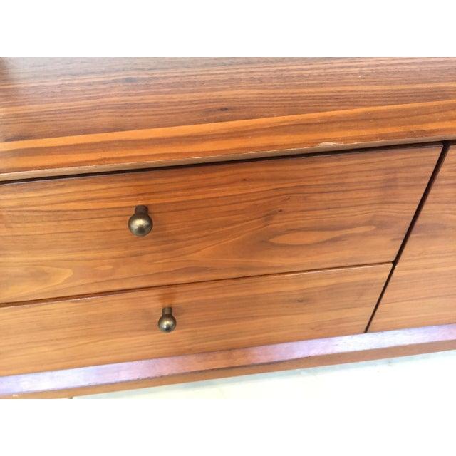 Mid Century Walnut Secretary Desk - Image 5 of 8