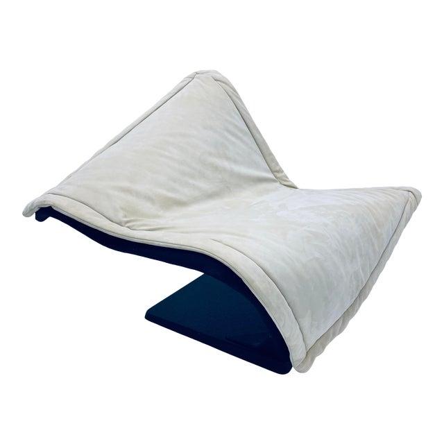 "Simon Desanta ""Flying Carpet"" Lounge Chair for Rosenthal Einrichtung For Sale"