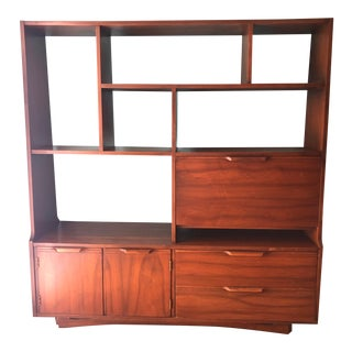Late 20th Century Mid Century Modern Danish Style Bookcase For Sale
