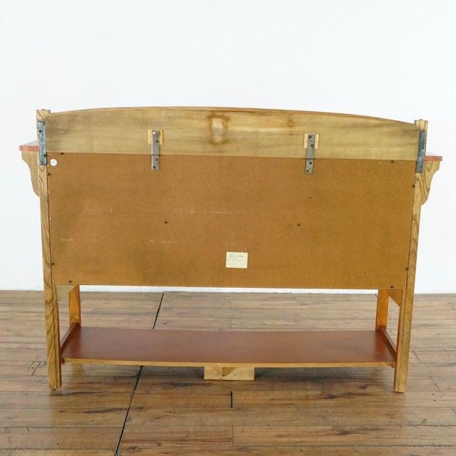 Mission Style Basset Oak Sideboard For Sale In San Francisco - Image 6 of 8