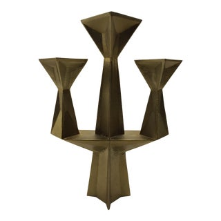 Contemporary Tom Dixon 3 Light Candlestick For Sale