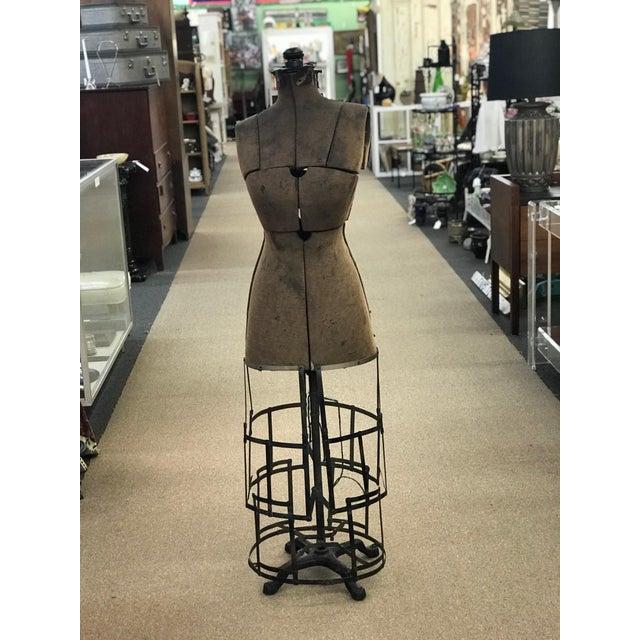 Cast Iron Antique Grand Rapids Dress Form Mannequin For Sale - Image 7 of 7