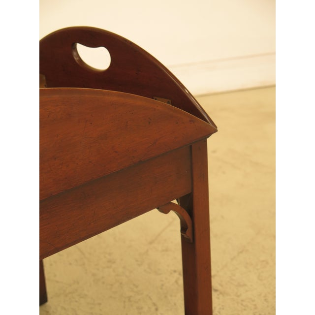 Kittinger Chippendale Mahogany Butler Coffee Table - Image 4 of 11