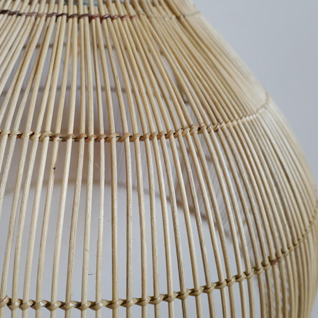 Gourd Stick Lantern Medium For Sale - Image 4 of 5