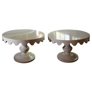 Pair of Original Dorothy Draper Tables For Sale