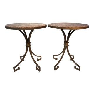 1940s Regency Arturo Pani, Key Side Tables - a Pair For Sale