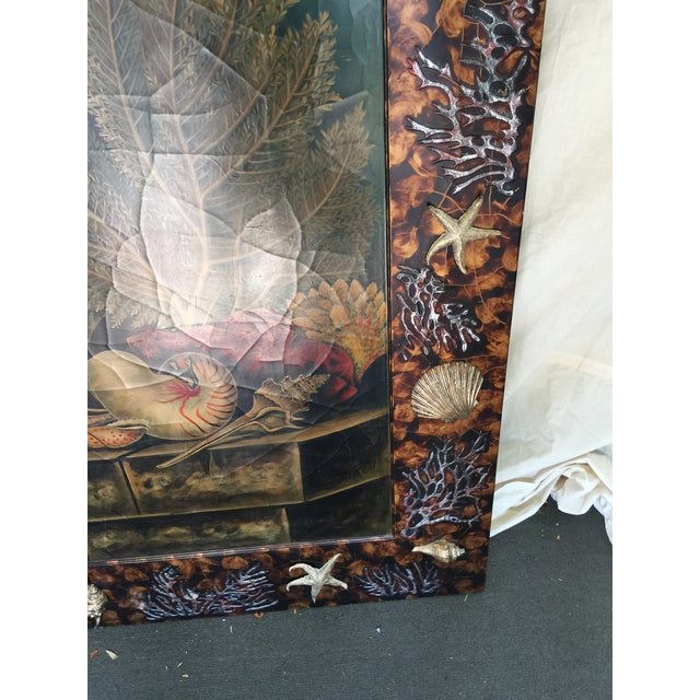 Trompe L'oiel Painting of Underwater Scene For Sale - Image 5 of 11