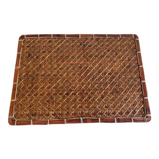 Handmade Rattan Placemants, S/6 For Sale