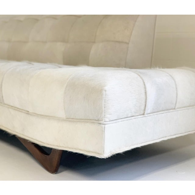 Adrian Pearsall Sofa in Brazilian Cowhide For Sale In Saint Louis - Image 6 of 13