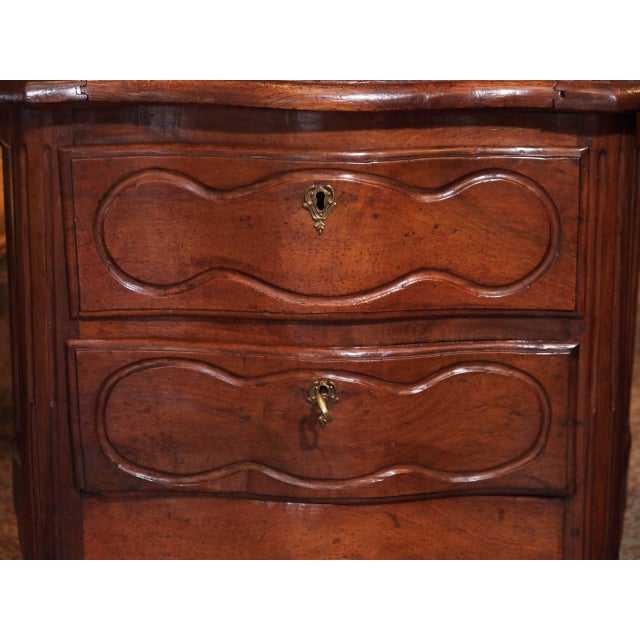 18th Century Small French Two Drawer Commode For Sale - Image 4 of 8