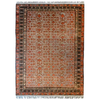 Fantastic Early 20th Century Central Asian Samaghand Rug For Sale