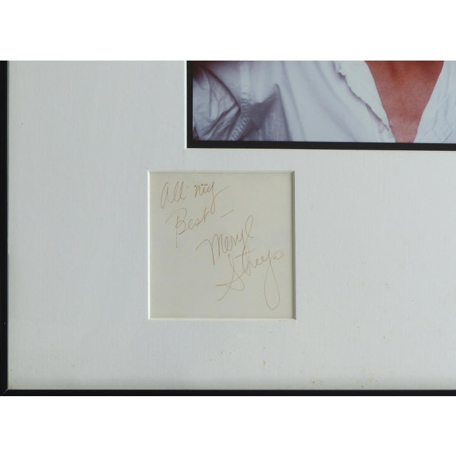 Realism 1981 Annie Leibovitz Photograph of Meryl Streep,Signed by Both, Numbered 4/40 For Sale - Image 3 of 11