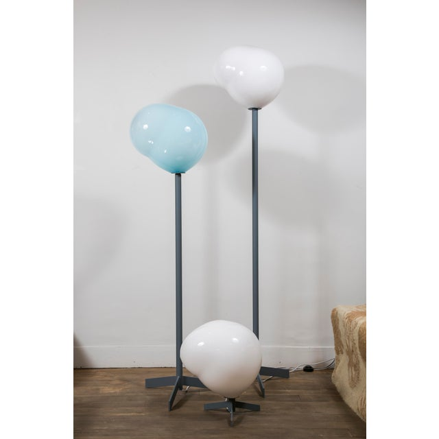 """Nubes"" Floor Lamp, Galerie Blanchetti Edition 2018 For Sale - Image 4 of 8"
