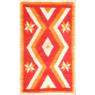 "Antique Navajo Rug 3' 4"" X 5' 8"" For Sale"