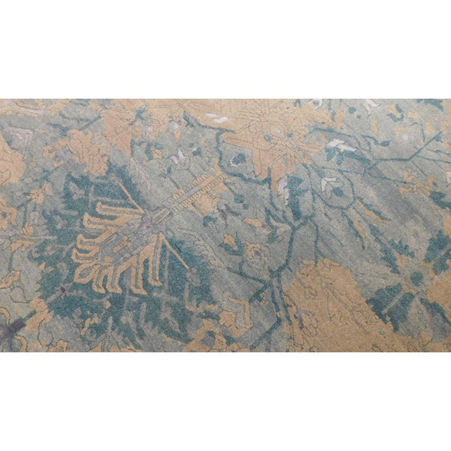 Erased Hand-Knotted Luxury Rug - 8′ × 10′ - Image 7 of 8