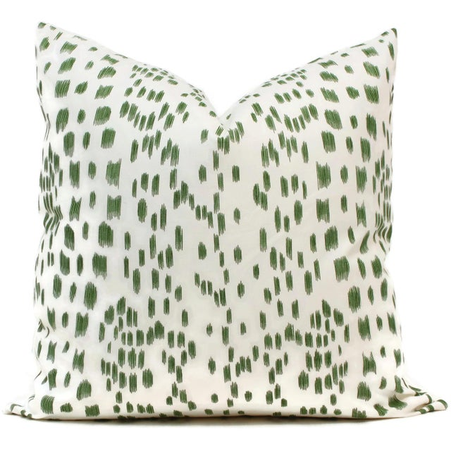 """Contemporary 20"""" x 20"""" Brunschwig Fils Les Touches Decorative Pillow Cover For Sale - Image 3 of 3"""