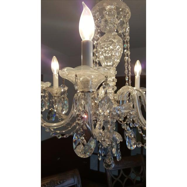 Schonbek Silver Heritage Crystal Chandelier - Image 3 of 6