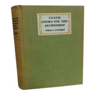 "1940's Willa Cather ""Death Comes for the Archbishop "" Book"