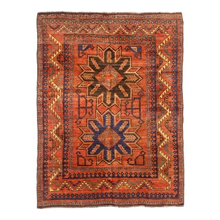 Russian Area Rug with Samarghand Design For Sale
