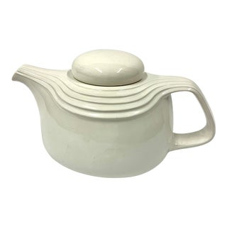Vintage Japanese Modernist Ceramic Teapot For Sale