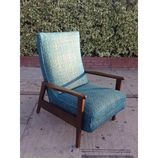 Mid-Century Modern Recliner Lounge Chair For Sale - Image 5 of 6