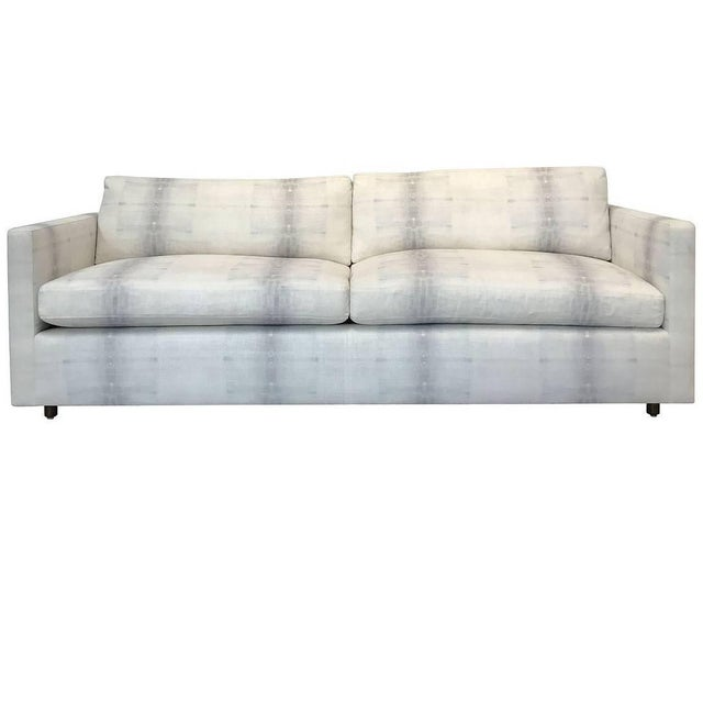 Textile Tuxedo Sofa by Martin Brattrud For Sale - Image 7 of 7