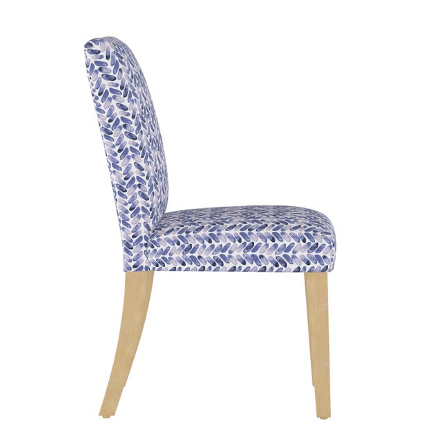 The sleek armless design of the Beth Dining Chair is all about the upholstery, neatly tailored in your choice of fabric....