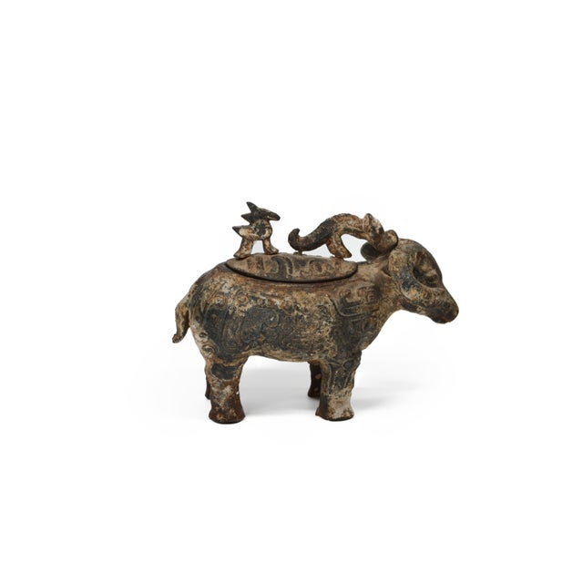Chinese Ram Vessel Archaistic Bronze - Image 1 of 6