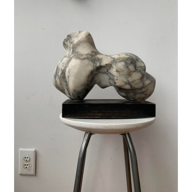 Vintage Abstract Marble Sculpture For Sale - Image 12 of 13